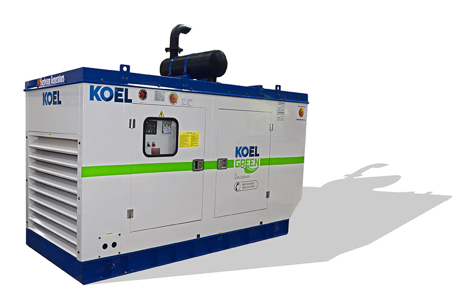 125HD KVA / 100 KW Kirloskar Diesel Generator on Rent
