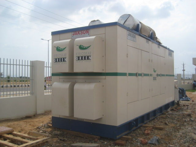 500  HD KVA / 400 KW Kirloskar Diesel Generator on Rent