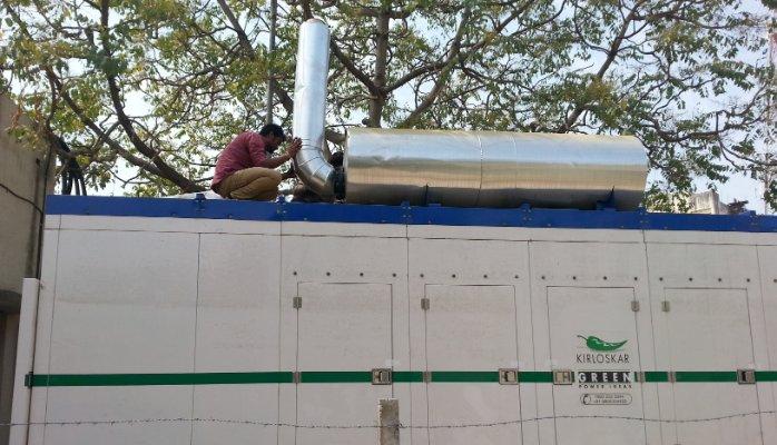 600 HD KVA / 480 KW Kirloskar Diesel Generator on Rent