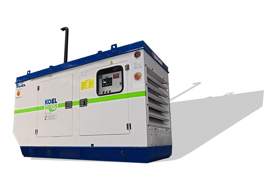 62.5 KVA / 50 KW Kirloskar Diesel Generator on Rent