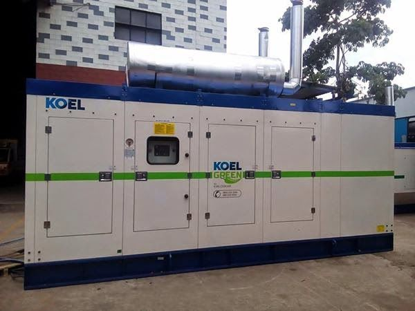 625 HD KVA / 500 KW Kirloskar Diesel Generator on Rent