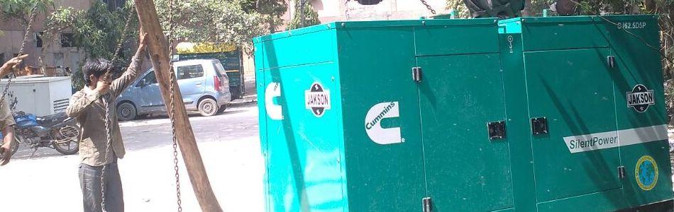 generator for rent in delhi