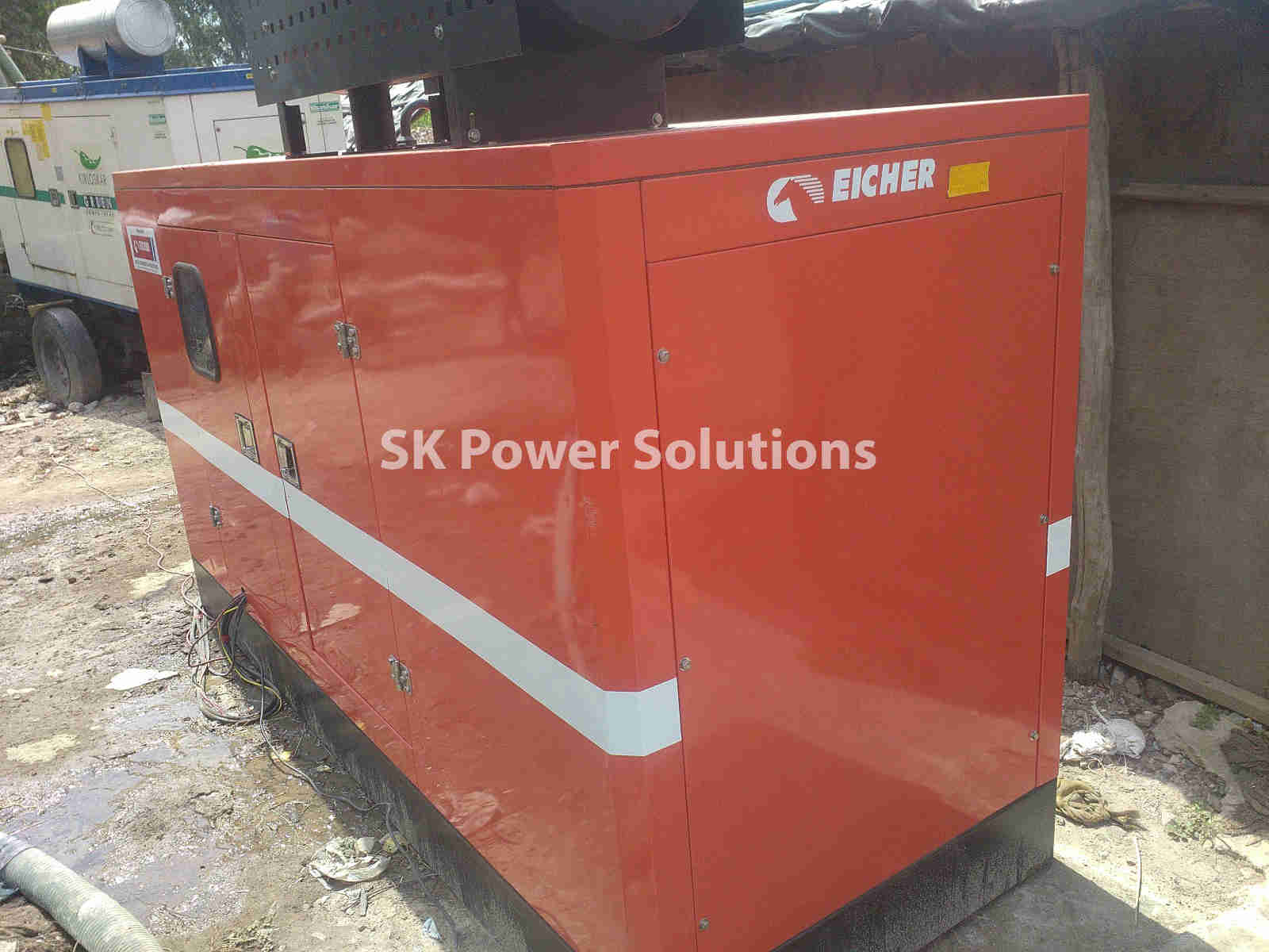 Work Four Which is in Faridabad. Where we provide Diesel Generator Rental