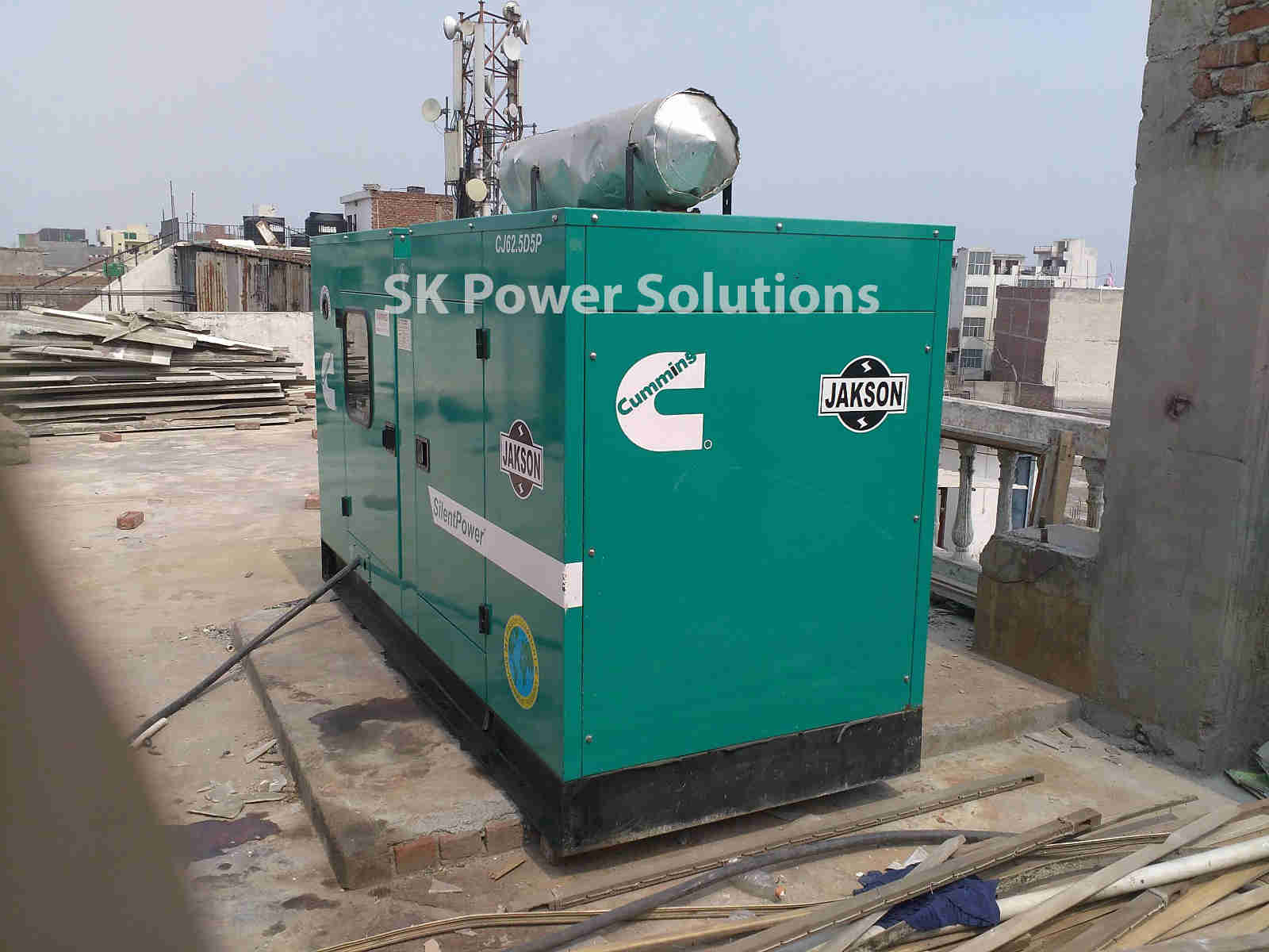 Work Two Which is in Gurgaon. Where we Provice Generator for rent