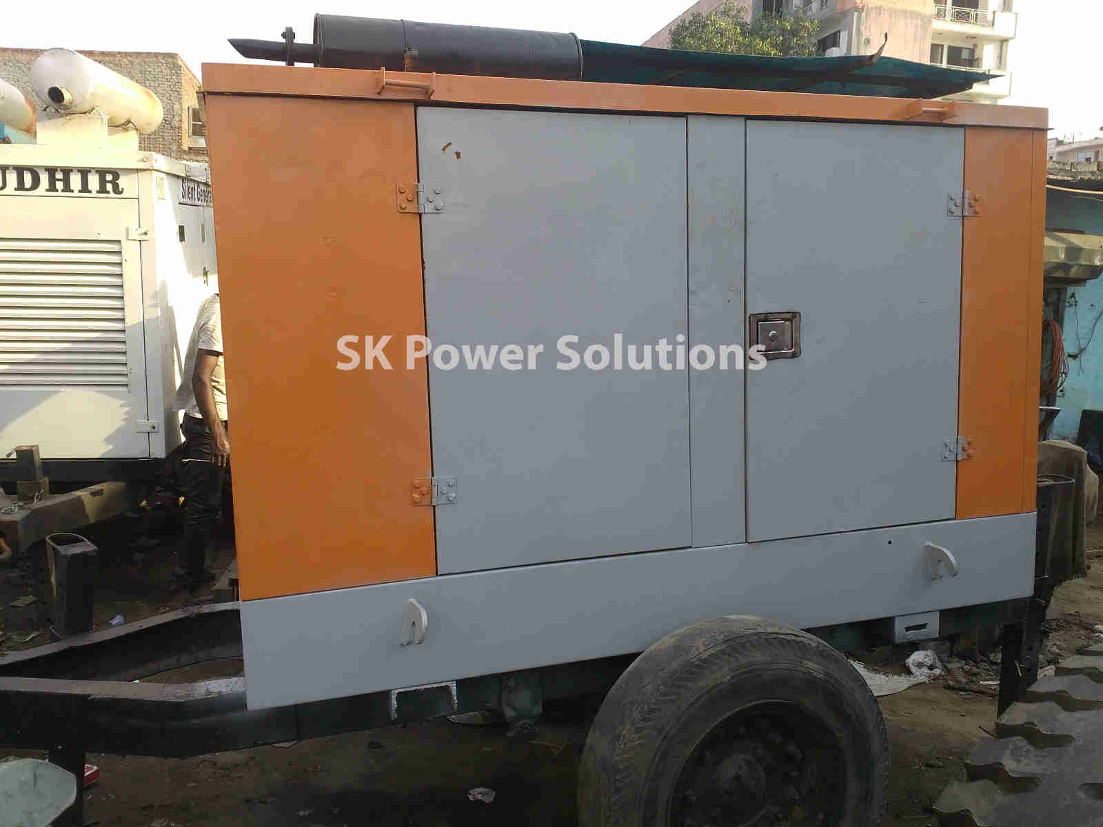 Work One Which is in Noida. Where we Provide Generator Rental Services